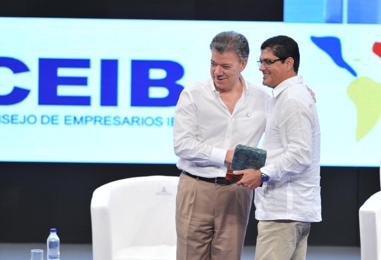 XI Primer encuentro empresarial Iberoamericano, Colombia 2016, Centro de Convenciones de Cartagena de Indias.