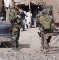 Shindand City, Afghanistant in 2009
