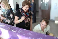 Signing Karen