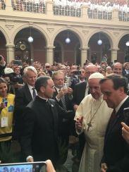 pope passing