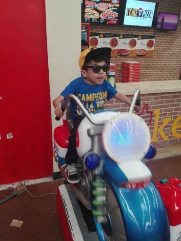cristo on bike