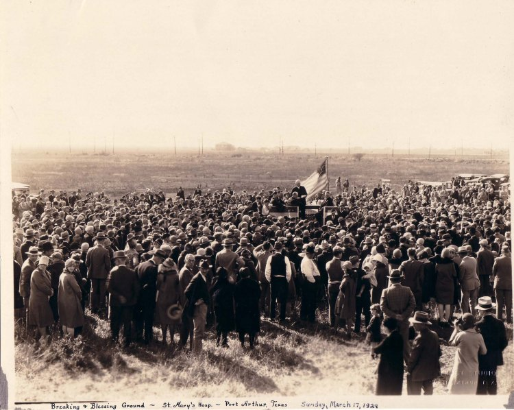 1929 Ground Breaking Blessing