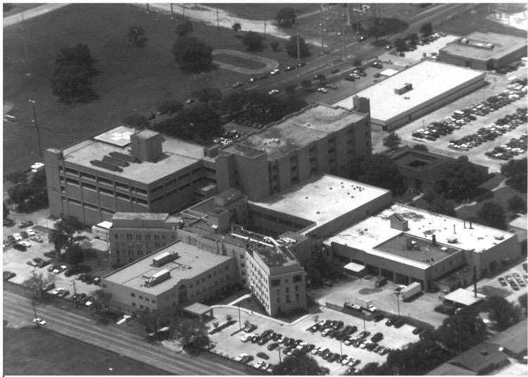 Photo - Arial Photo of St. Mary 1970 - BW 2 (002)